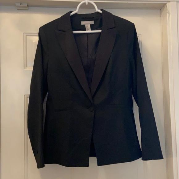 H&M black woman's jacket size 10
